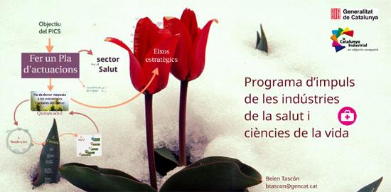 Programa d'impuls de les indústries de la salut i ciències de la vida