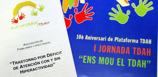 Acte de celebració del 10è Aniversari de Plataforma TDAH a Sant Boi