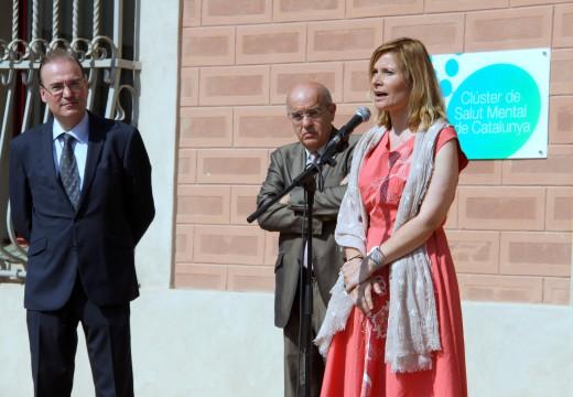 S'ha inaugurat la nova seu del Clúster de Salut Mental de Catalunya