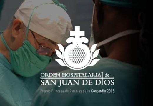 L'Ordre Hospitalària Sant Joan de Déu rep el Premi Concòrdia