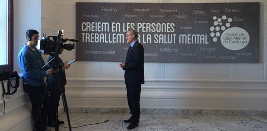 El CSMC, a Televisió Espanyola en el Dia Mundial de la Salut Mental