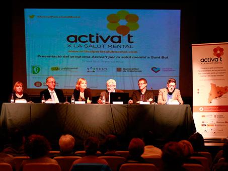 """""""Activa't per la Salut Mental""""  es presenta a Sant Boi de Llobregat"""