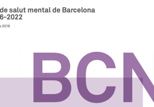 L'Ajuntament de Barcelona presenta el Pla de Salut Mental 2016-2022