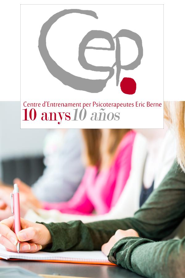 Logo 10% de descompte en la formació al CEP Eric Berne per professionals de la Salut
