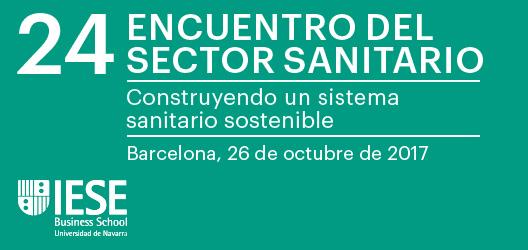 Logo 20% descompte a la Trobada del Sector Sanitari organitzada per l'IESE
