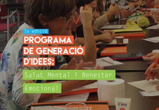 Inscripcions obertes per a la 7a edició del Programa de Generació d'Idees